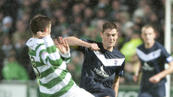 Iain Vigurs, right, sees no reason why Ross County cannot take points off Celtic