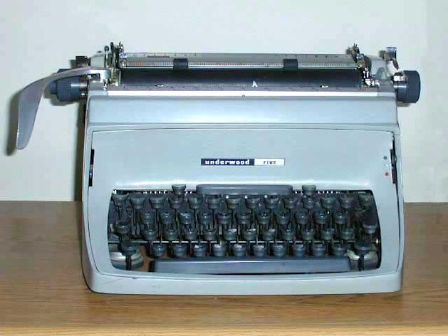 Typewriters were once a staple of newsrooms, businesses and offices, but demand has now crashed (Image: Wikipedia)