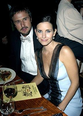 David Arquette, Courteney Cox The Governor's Ball 55th Annual Emmy Awards After Party - 9/21/2003