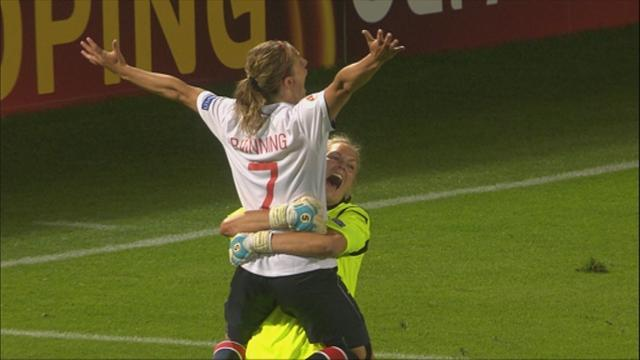 Women's Euro - Norway to meet Germany in final after penalties success