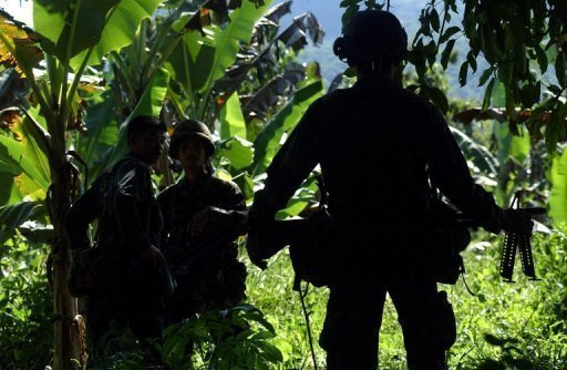 Philippine soldiers patrol the southern island of Jolo in 2007. An Islamic militant accused of beheading Philippine soldiers has been arrested after a raid on his hideout on the southern island of Basilan