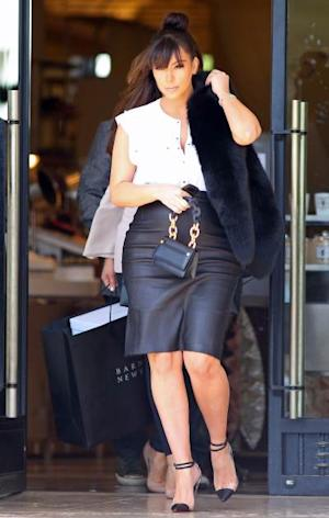 Kim Kardashian steps out in Los Angeles, March 21, 2013 -- Getty Images