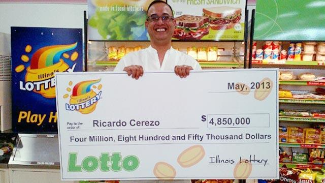 Illinois Man Finds $4.85 Million Lottery Ticket in Cookie Jar