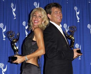 Linda Thompson (II) and David Foster Emmy Creative Arts Awards - 9/13/2003