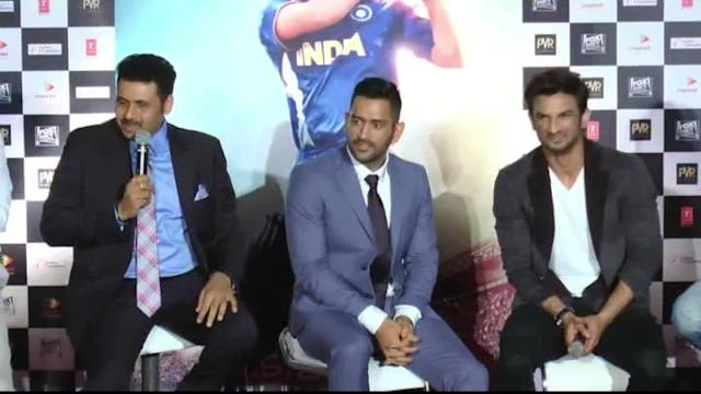 Dhoni talks about Sushant's nervousness   M.S. Dhoni: The Untold Story