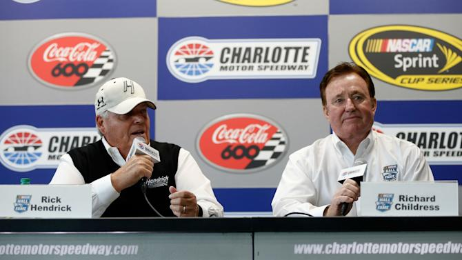 rick hendrick richard childress thought they had to 39 retire or die 39 to get into nascar hall of. Black Bedroom Furniture Sets. Home Design Ideas