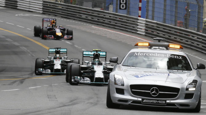 Rosberg holds off rival Hamilton to win Monaco GP