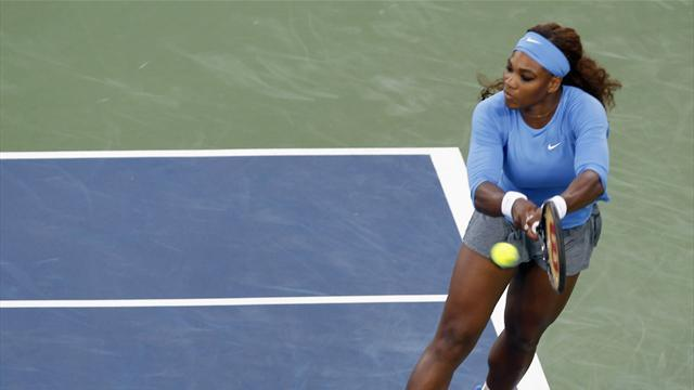 WTA Cincinnati - Williams ends Li reign to reach first Cincinnati final