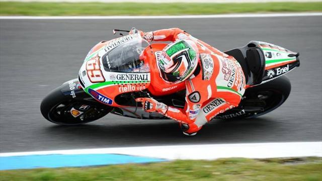 Motorcycling - Hayden admits Ducati has lost ground