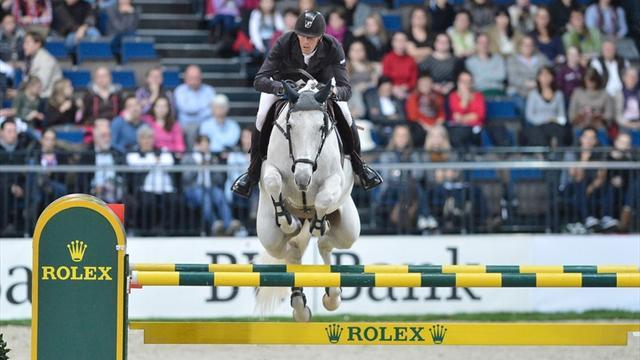 Equestrianism - Staut leads way in Stuttgart