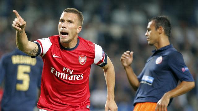 Champions League - Podolski ready for Bayern test
