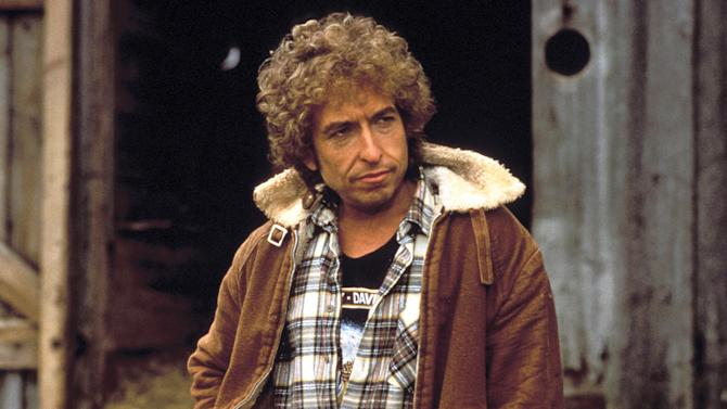"""Bob Dylan in """"Hearts of Fire"""""""