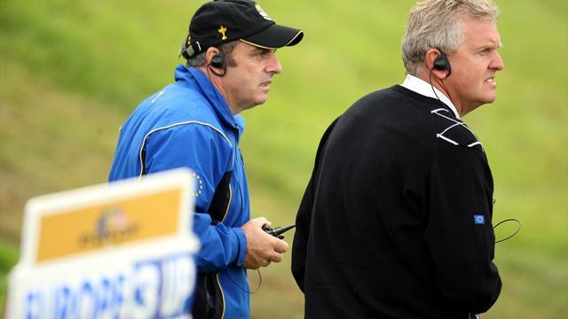 Ryder Cup - Montgomerie gets behind McGinley
