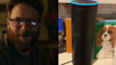 Seth Rogen is staying busy making his Alexa fart