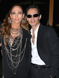 "The latin duo, Jennifer Lopez and Marc Anthony, had to reunite for their television show ""Q'Viva"" despite their divorce."