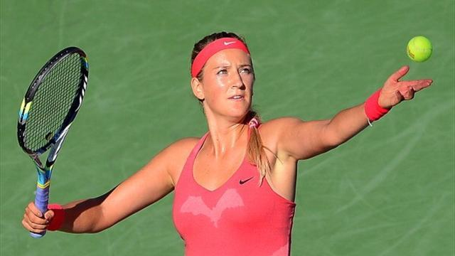 US Open - Azarenka relishes chance to face Serena