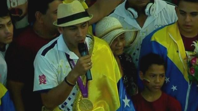 Venezuela goes loopy after Olympic fencing gold