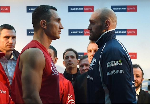 Boxing - Klitschko poised for title bout against Joshua