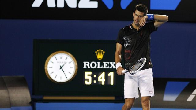 Australian Open - ATP to discuss time-violation rule with players