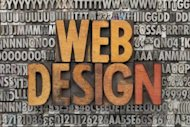 5 Ways to Gain Web Design Clients image bigstock web design text in vintage w 30228359 300x200