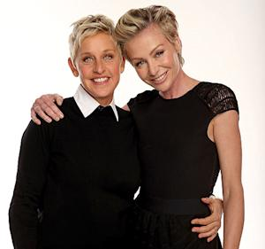"""Ellen DeGeneres on Having Kids With Portia De Rossi: There's """"Too Much Glass in Our House"""""""