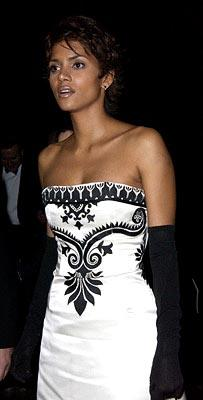 Halle Berry at the London gala premiere of MGM's Die Another Day