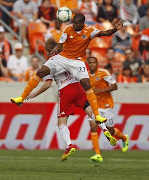 Dynamo rally for 2-2 playoff tie against Red Bulls