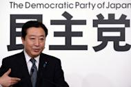 Japanese Prime Minister Yoshihiko Noda (pictured on September 21) warned China, in an interview published on Sunday, that its tough and uncompromising stance taken in a territorial dispute with Japan could weaken the Chinese economy