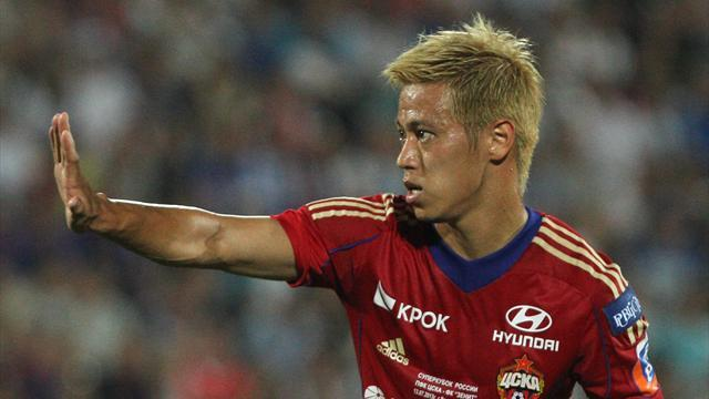 Serie A - Honda to join Milan but CSKA won't release him