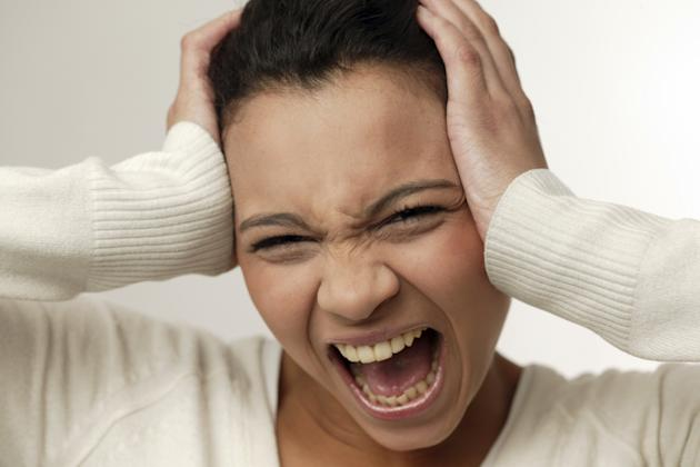 Scientists have used brain imaging to work out what is the most annoying noise in the world (Image: Rex)