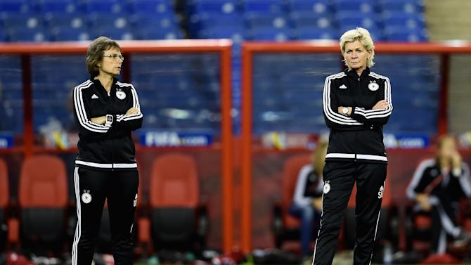 Germany Press Conference & Training Session - FIFA Women's World Cup 2015