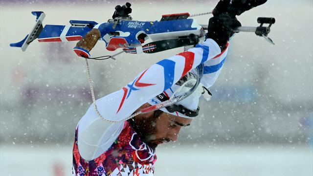 Biathlon - Fourcade doubtful for men's relay