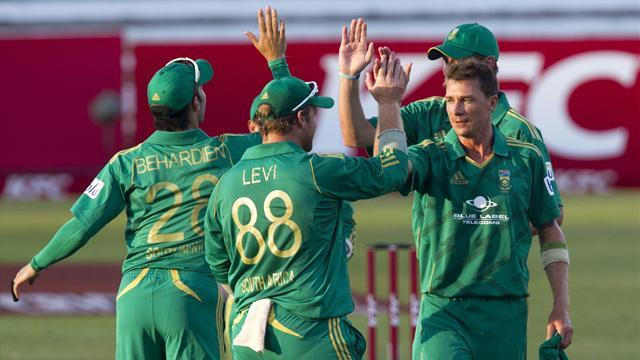 Cricket - South Africa crush New Zealand by eight wickets
