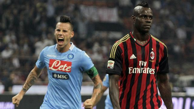 Serie A - Balotelli misses first penalty in Milan defeat
