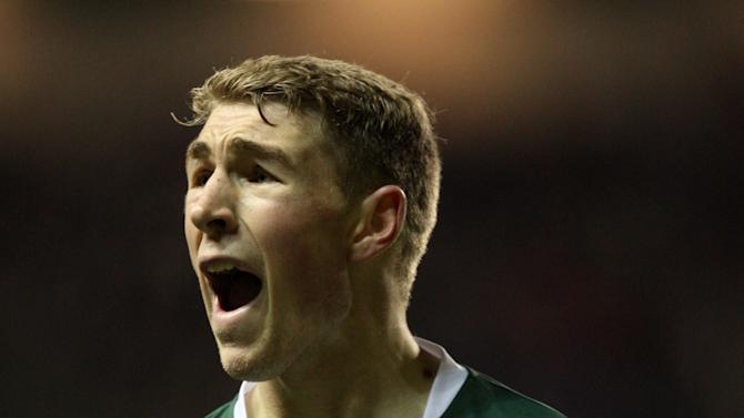 David Wotherspoon's late strike deflected in to give Hibernian the win over Hearts