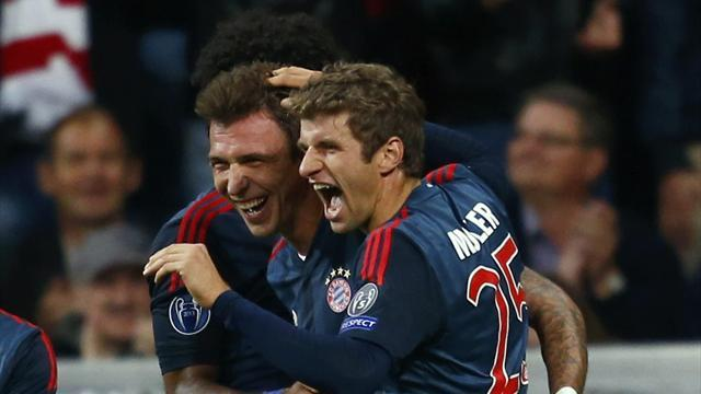 Champions League - Bayern put lethargy talk to bed
