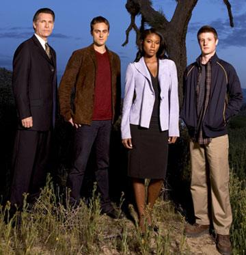 Cotter Smith, Stuart Townsend, Gabrielle Union and Eric Jungmann ABC's Night Stalker