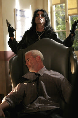 Alice Cooper and Michael Shamus Wiles USA Network's Monk