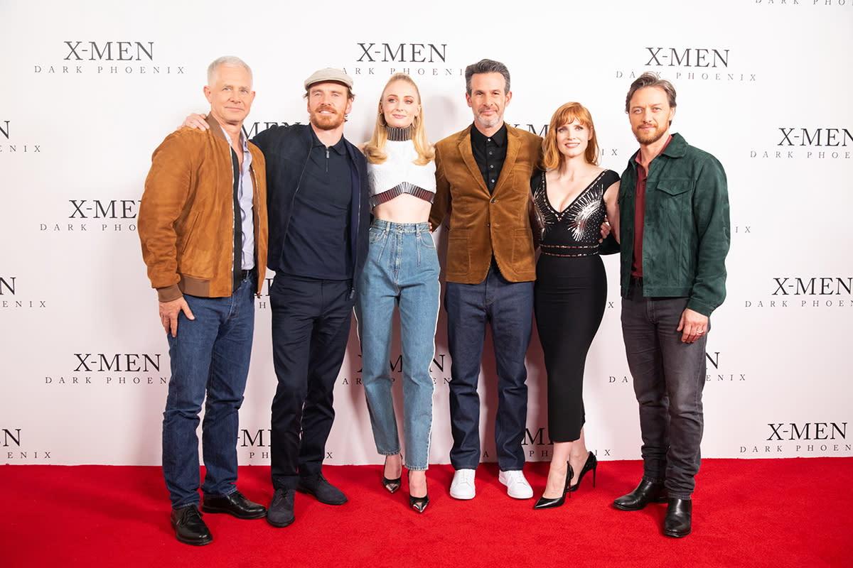 四位演員也與導演賽門金柏格、製片哈奇帕克參與粉絲見面會,吸引大批X粉絲到場助陣。