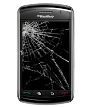 BlackBerry Brand Re Boot Boots CEO image blackberry cracked screen