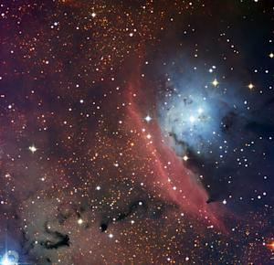 Dusty Star-Spawning Space Cloud Glows In Amazing Photo