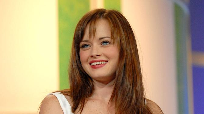 "Alexis Bledel of ""Gilmore Girls"" at The CW Summer 2006 TCA  Press Tour."