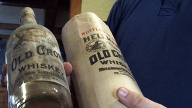 Century-Old Whiskey Bottles Found in Missouri Man's Attic