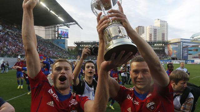 European Football - CSKA Moscow pip AVB's Zenit to league crown
