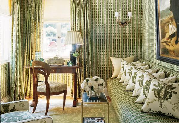 Oprah's Santa Barbara Guest House: The Study