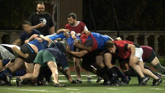 Gay-friendly rugby team reacts to Jason Collins' coming out