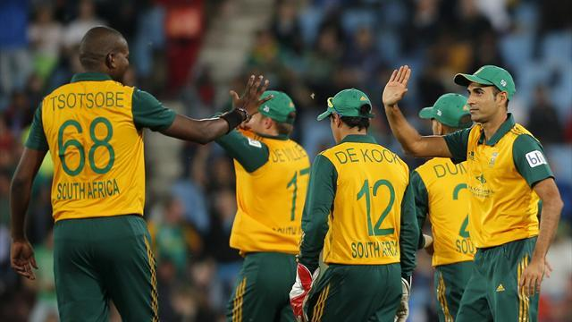 Cricket - Steyn and Duminy steer South Africa to thrilling win