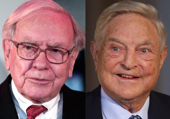 Soros contro Buffett, tre azioni a confronto nei loro portafogli