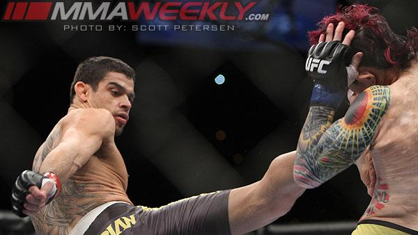 Interim Bantamweight Champ Renan Barão Injured, Officially Out of UFC 161 Main Event