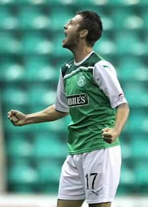 Hibernian winger Ivan Sproule is eager for a first team chance